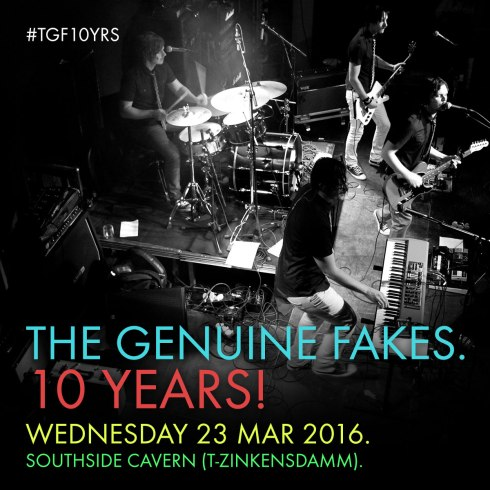The Genuine Fakes 10 years